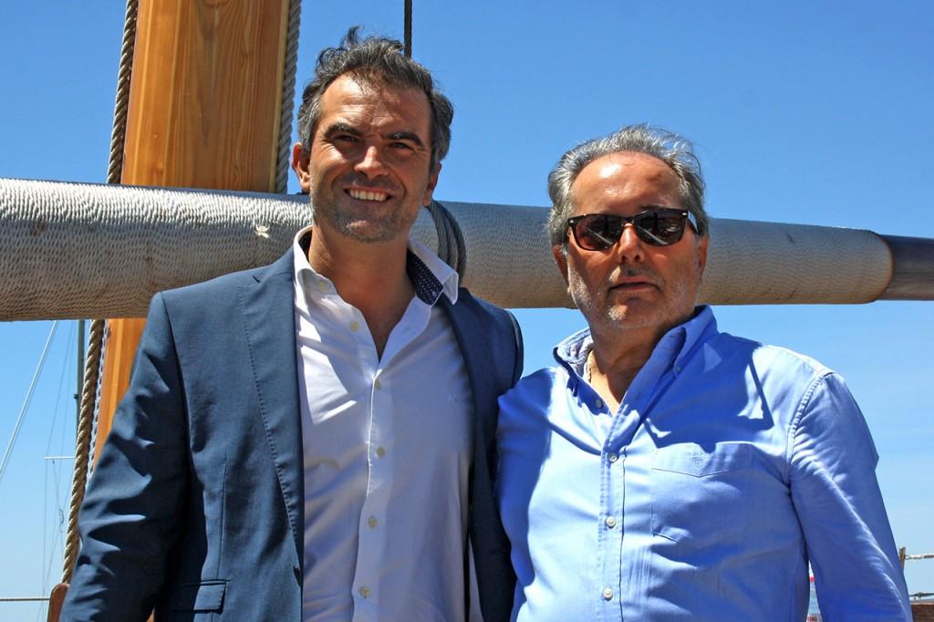 António Pina e Eduardo Cruz