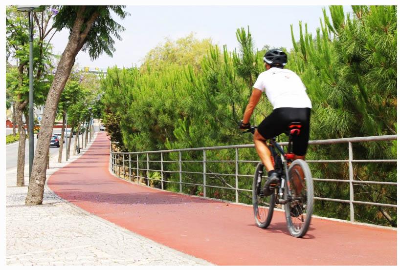De bicicleta no Algarve