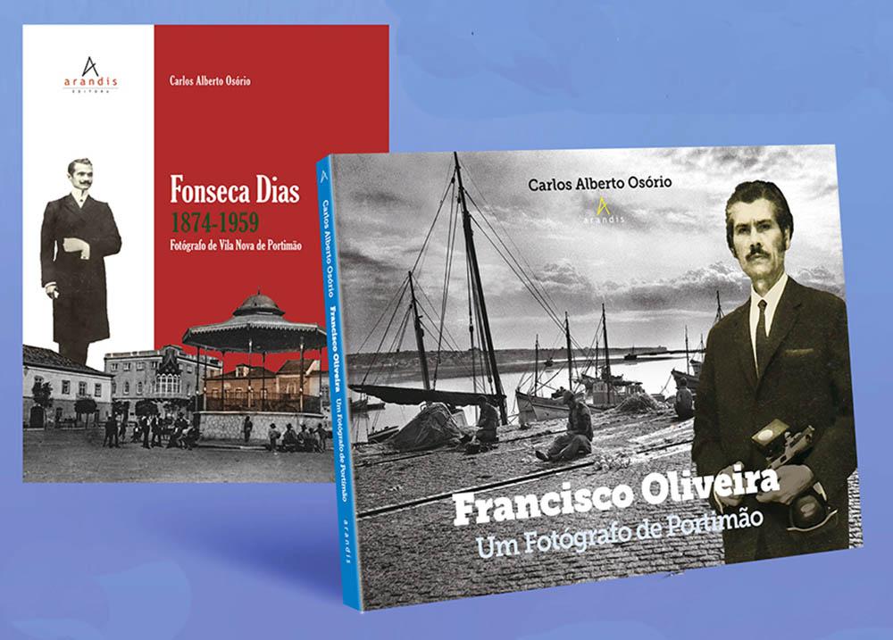 Livros sobre fotógrafos de Portimão