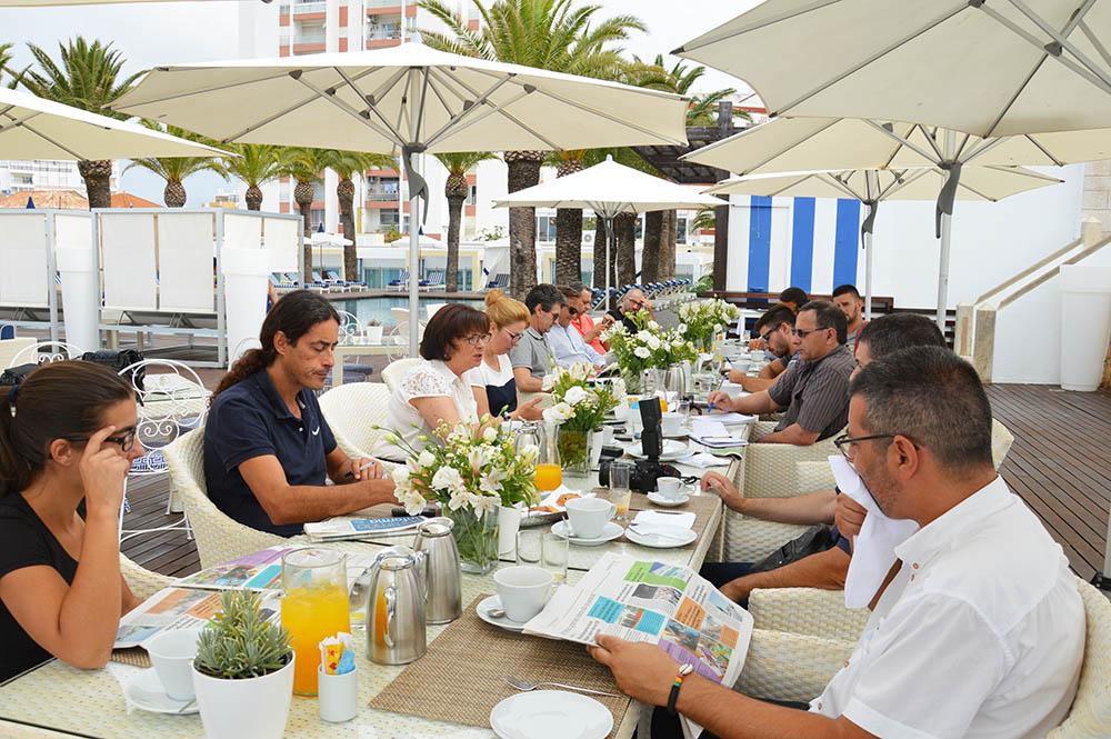 Isilda Gomes_pequeno almoço com jornalistas