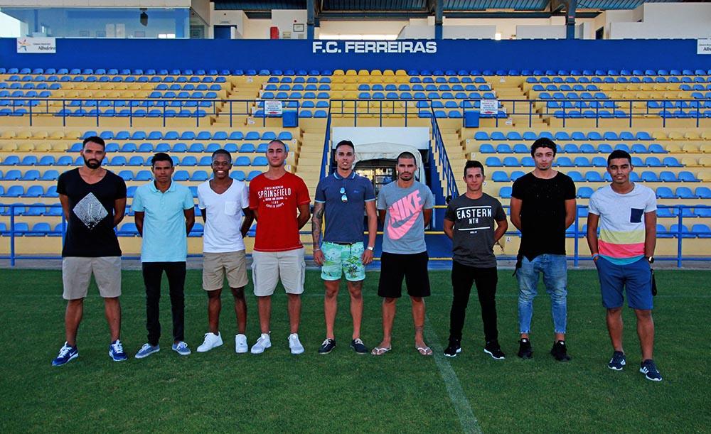 Caras novas do FC Ferreiras