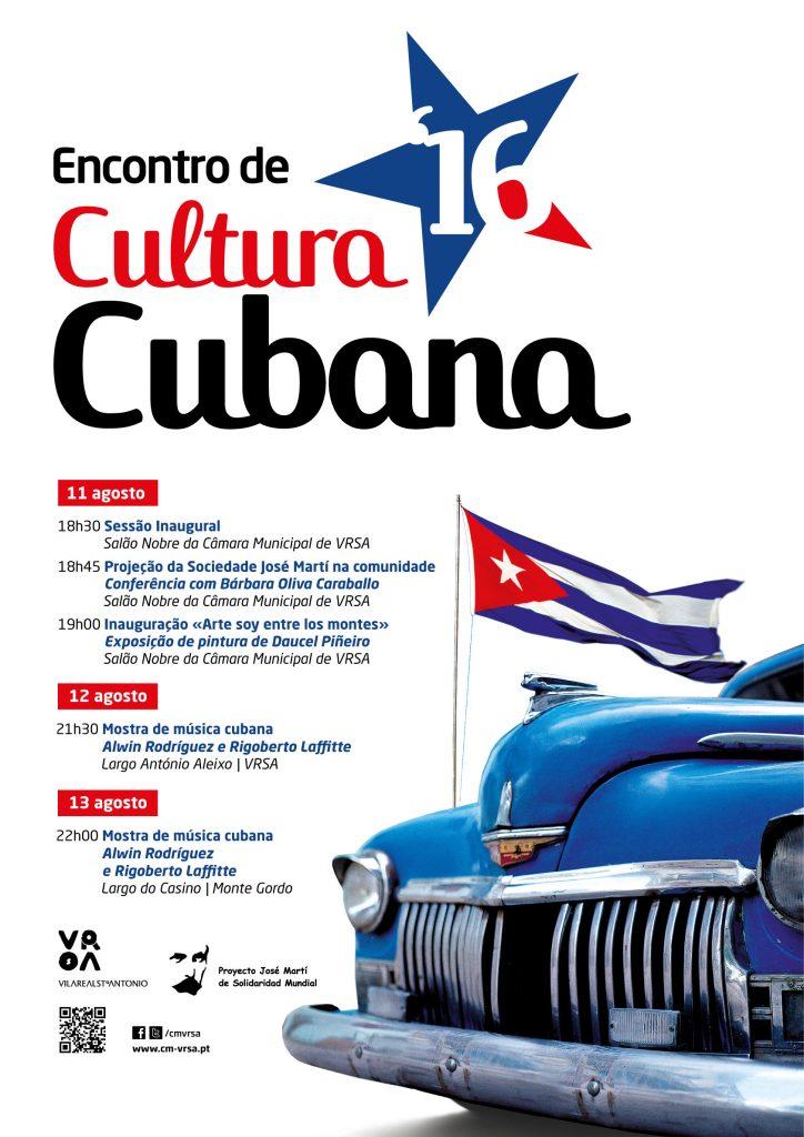 Cartaz_Encontro de Cultura Cubana 2016