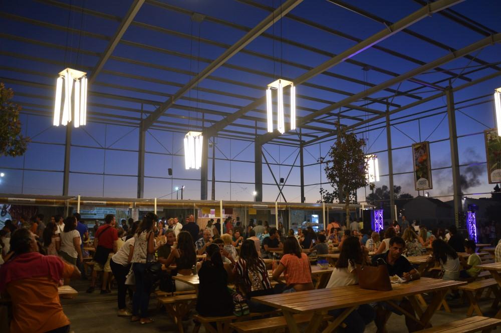Petiscos e vinhos algarvios no novo pavilhão aMARaTerra