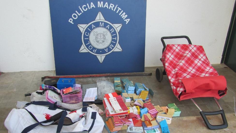 Furto Bilheteira barcos ilhas Olhão_Policia Maritima