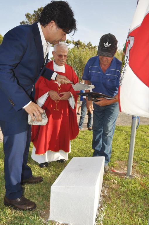 Lançamento da primeira pedra da capela da Manta Rota_VRSA (1)