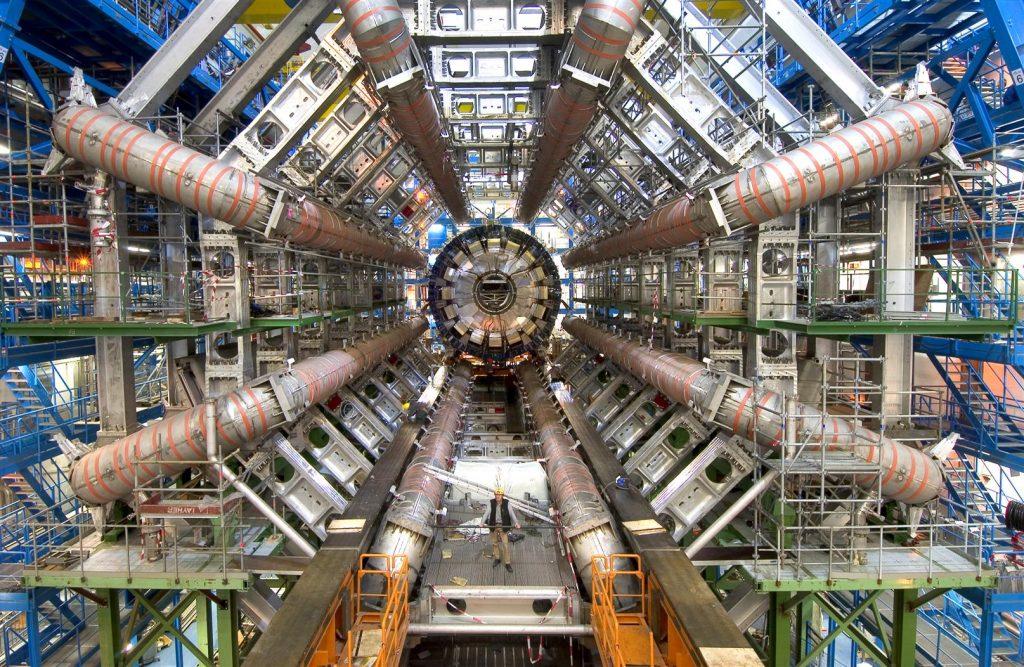 O detetor da experiência ATLAS no LHC