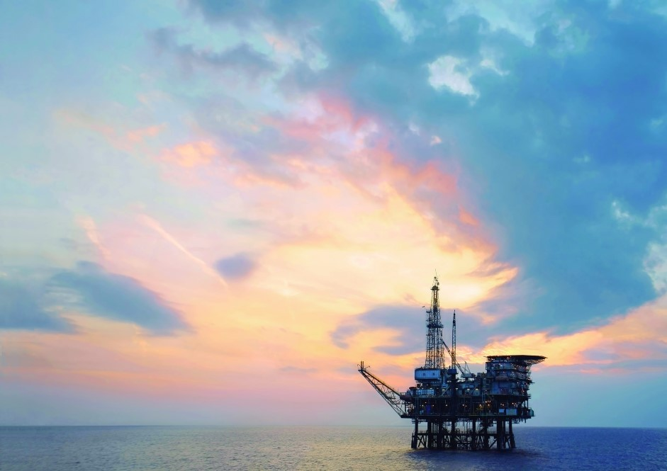 plataforma de exploração de gás e petróleo da Repso3 (Custom)
