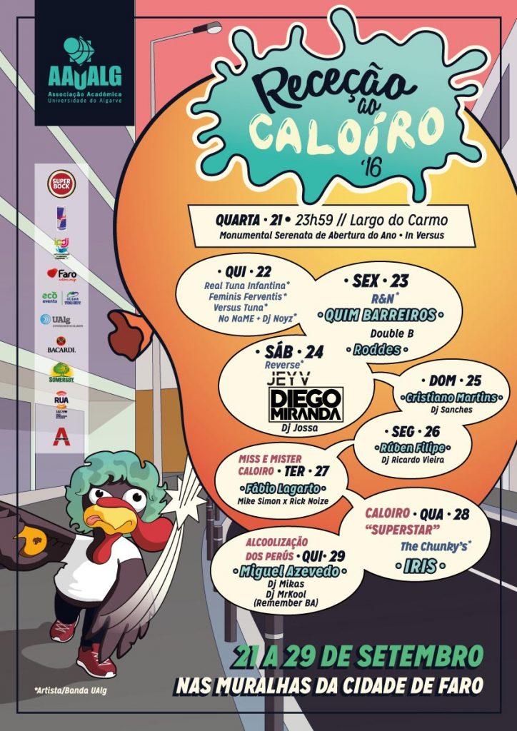 Cartaz Receção Caloiro 2016