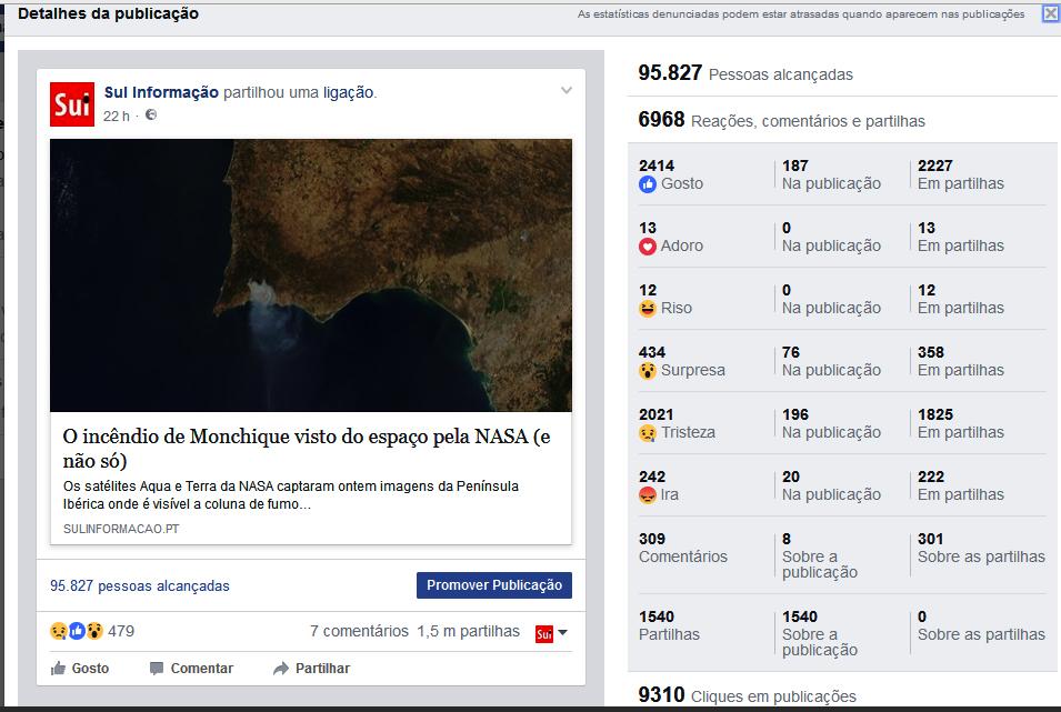 Estatísticas facebook_peça satélites incêndio