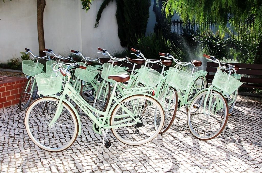 Frota Bicicletas Municipais São Brás