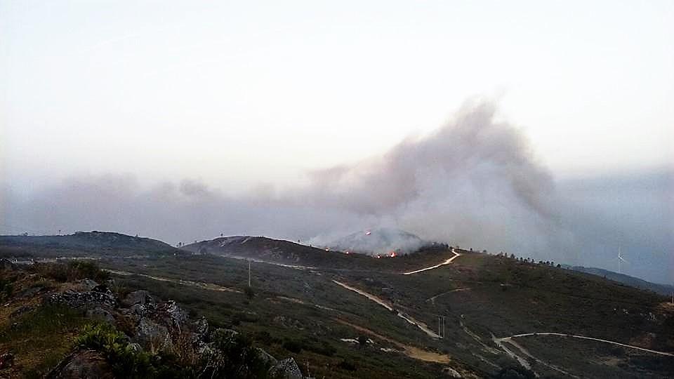 Incêndio Fóia Monchique 2016 Hélder Renato