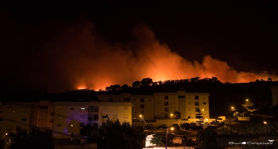 Incêndio em Silves_Bruno Gonçalves