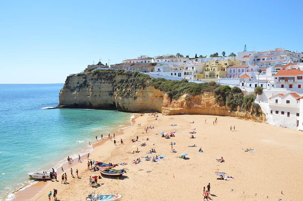 Praia de Carvoeiro_Algarve