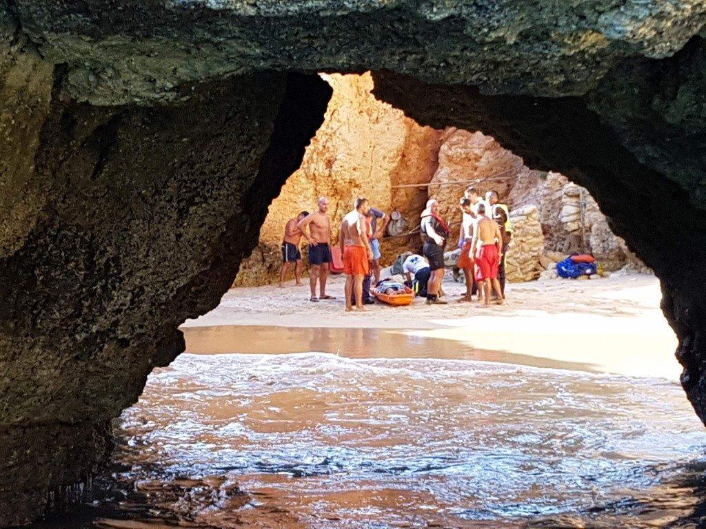 Resgate Praia do Submarino