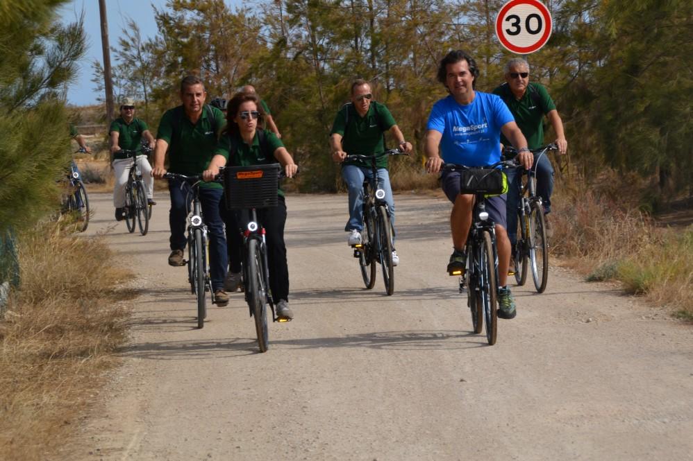 Secretária de Estado Turismo pedala na Ecovia_pl_13