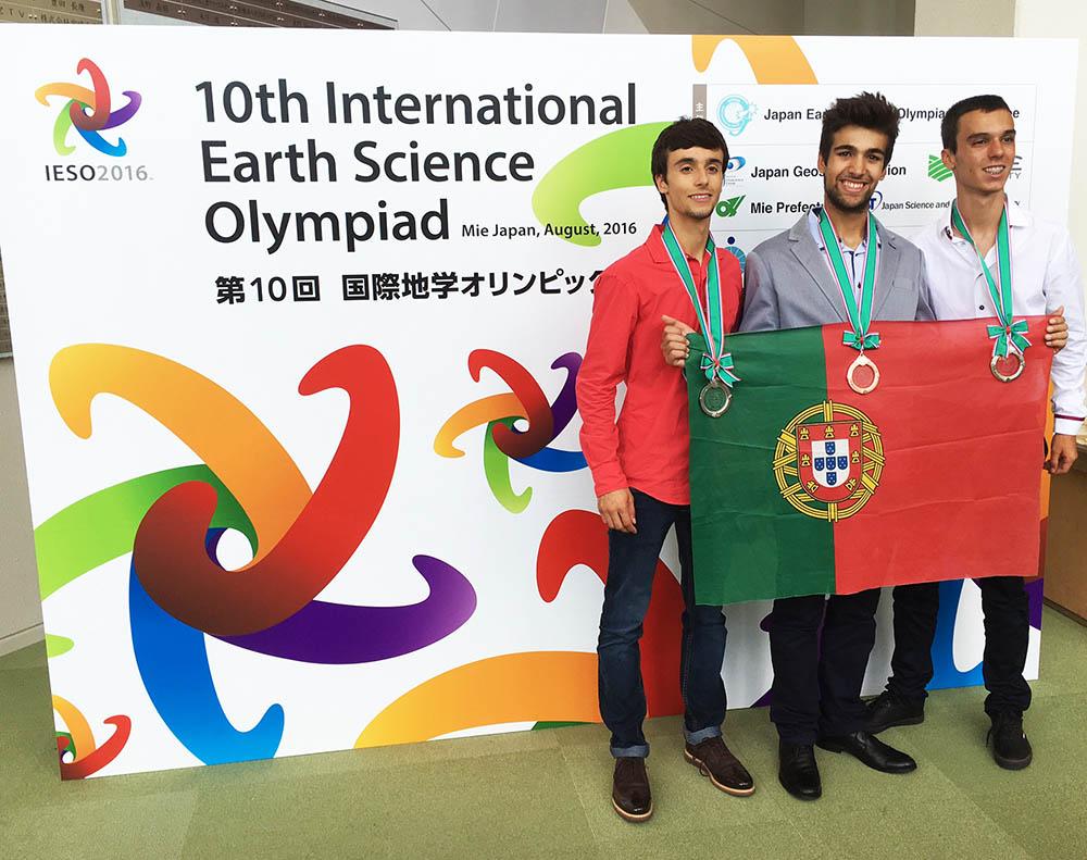 estudantes portugueses ganham medalhas
