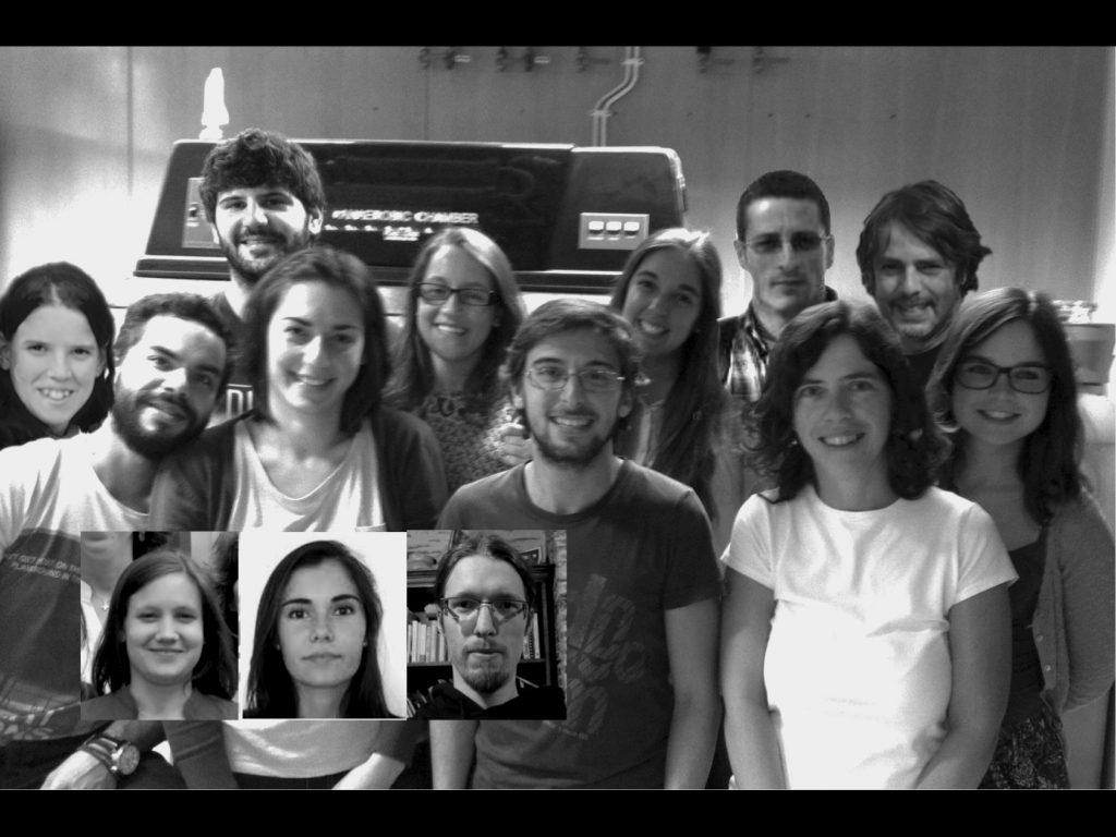 O grupo de investigadores