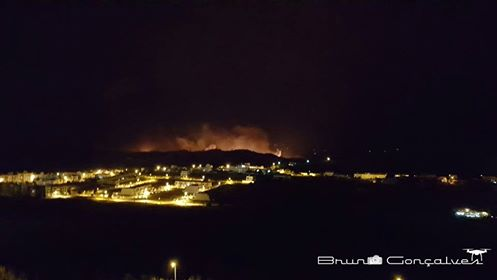 incendio em Silves