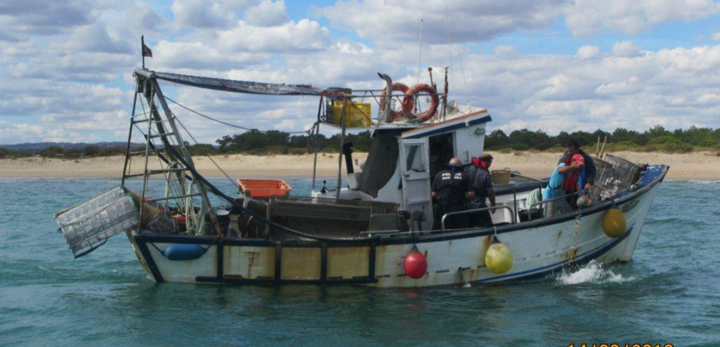 barco de pesca da ganchorra