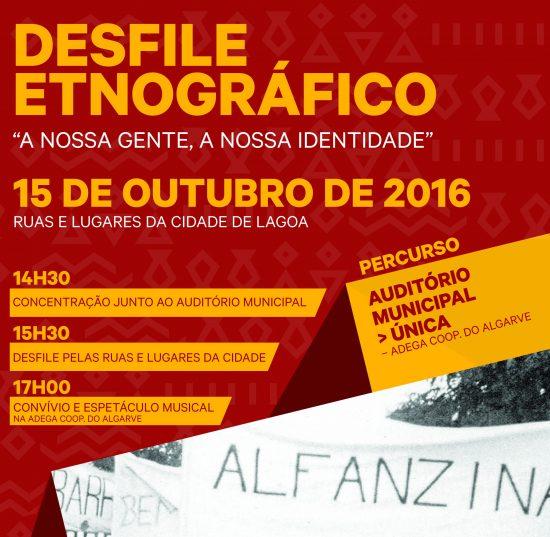 Cartaz etnográfico lagoa