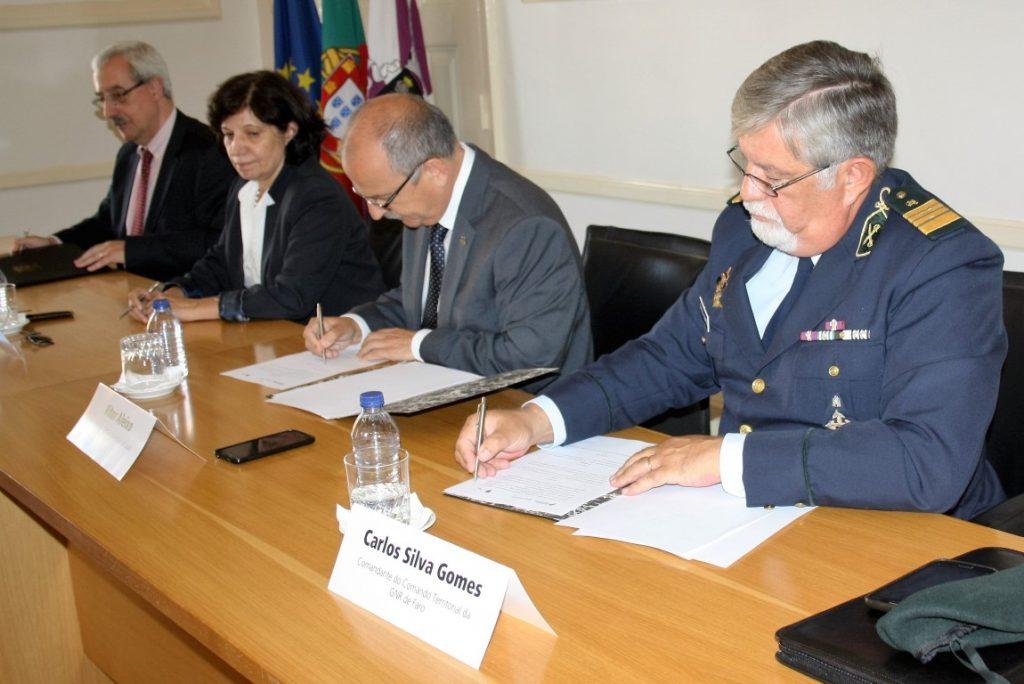 Contrato Interadministrativo Quartel GNR Almancil