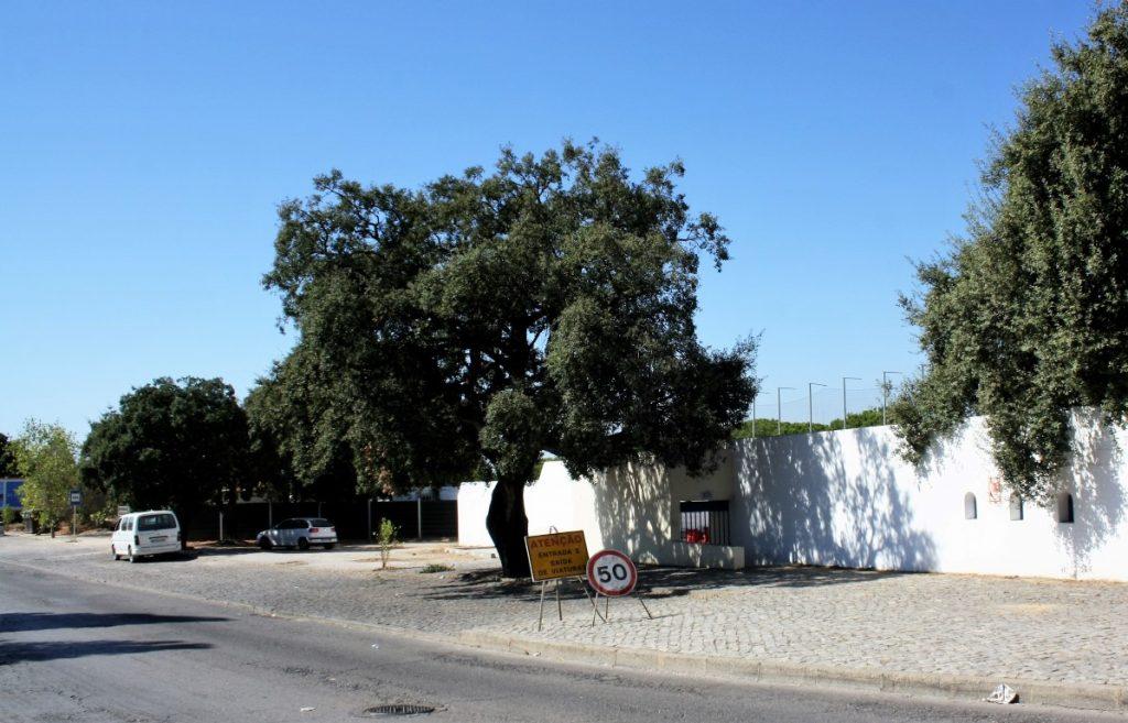 Localização do futuro quartel da GNR de Almancil