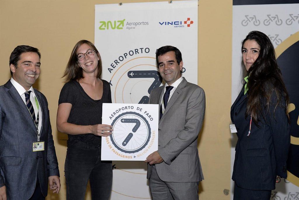Passageira 7 milhões Aeroporto de Faro