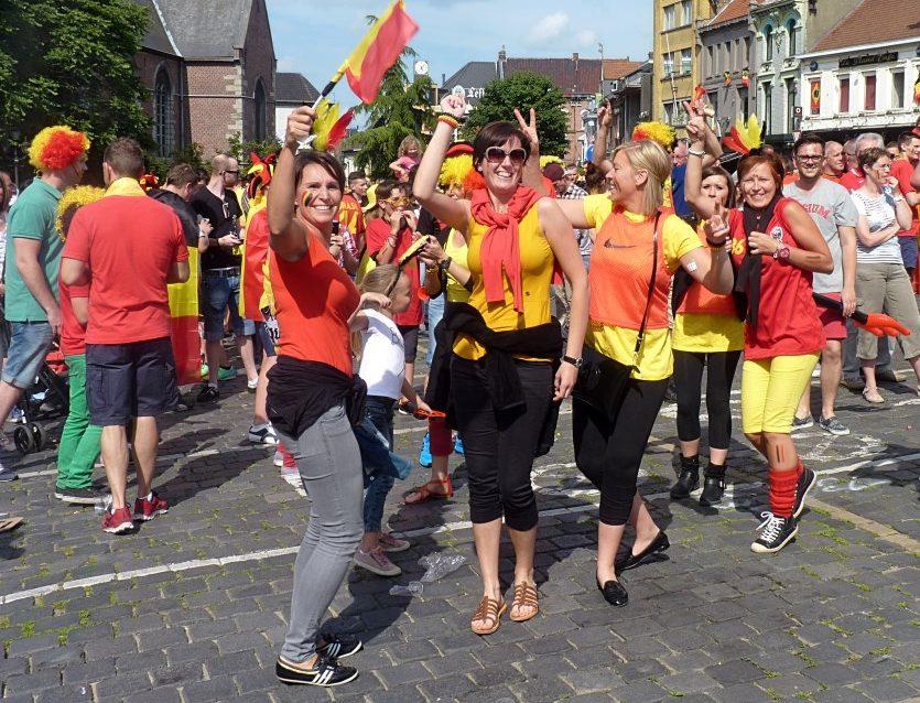 adeptos belgas