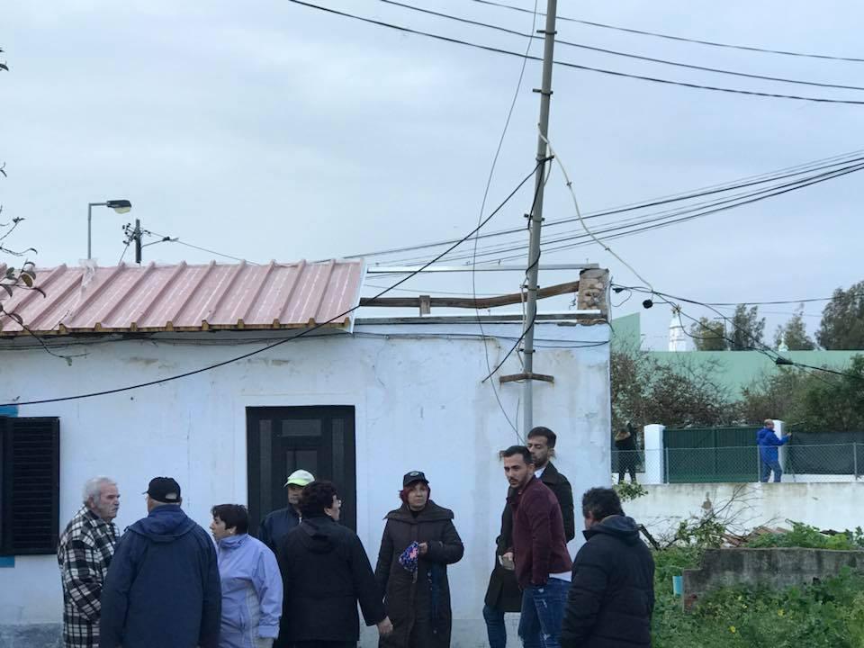 Vídeo mostra tornado que varreu o Algarve a arrancar árvores