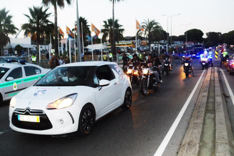 CUVI e Motoclube de Faro num protesto anti-portagens