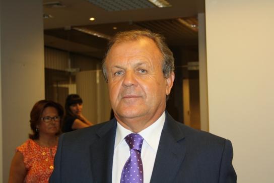 Desidério Silva antes de tomar novamente posse