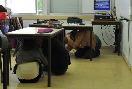Exercicio de simulação de sismo