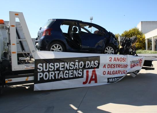 Fórum contra as portagens na Via do Infante Loulé