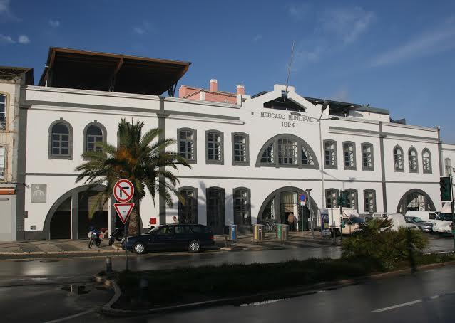 fachada do Mercado Municipal da Avenida