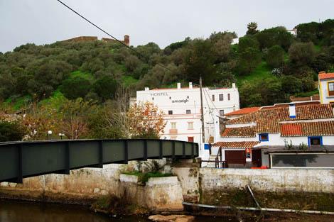 Ponte pedonal de Aljezur