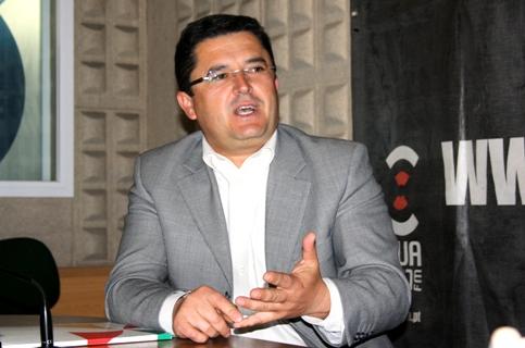 Presidente da Câmara de Alcoutim Osvaldo Gonçalves