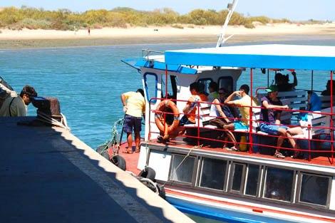 barcos da Ria Formosa