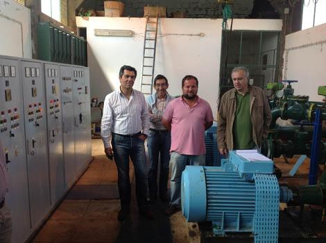 Miguel Freitas com os agricultores da Varzea de Benaciate