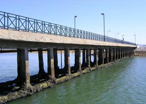 ponte da praia de faro