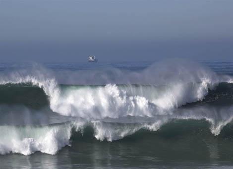 temporal no mar