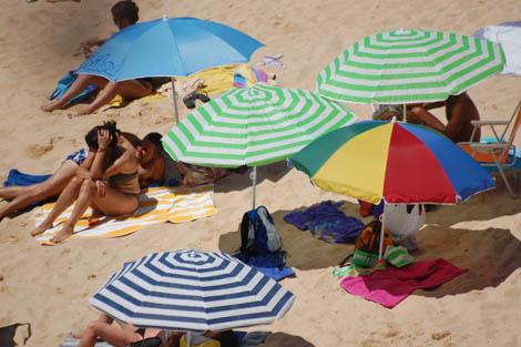 verão e praia