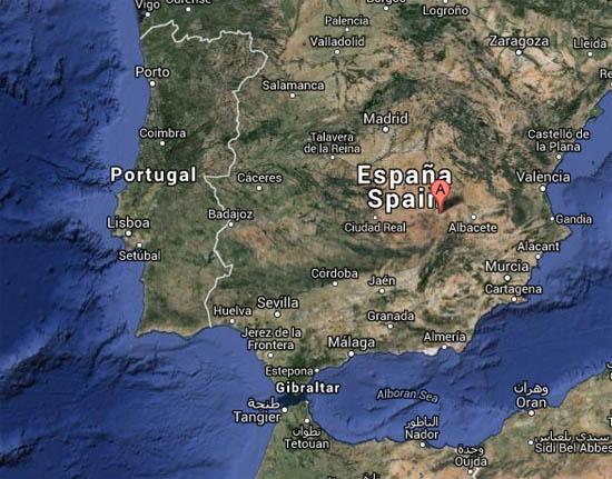 albacete espanha mapa Sismo de 5,3 em Espanha foi sentido no Centro e Sul de Portugal  albacete espanha mapa