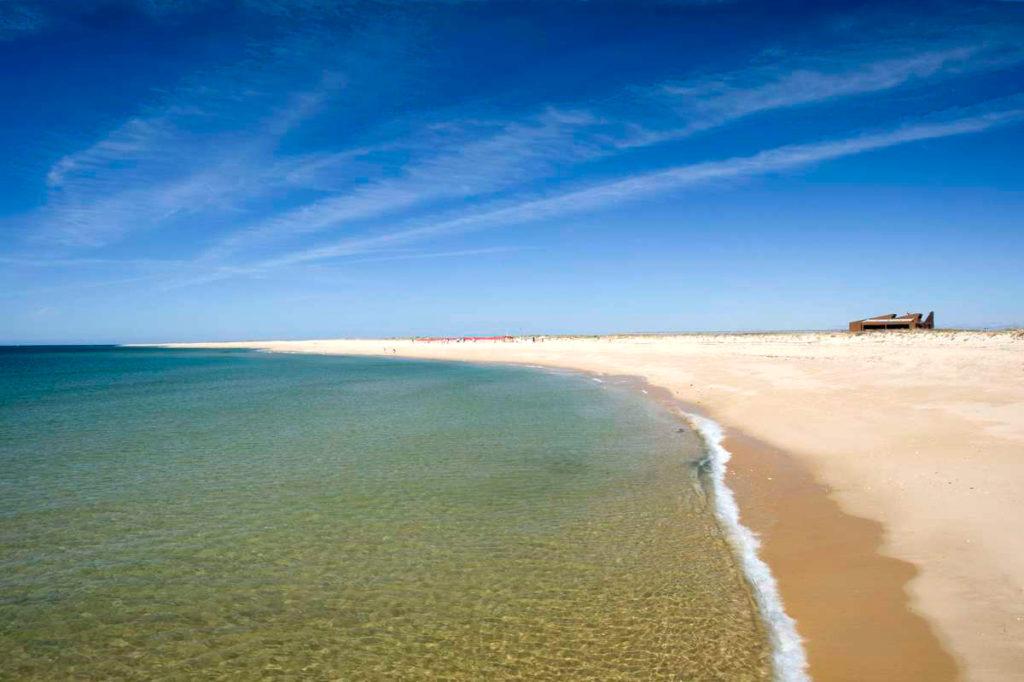 Faro Algarve Portugal Beach Deserta Island