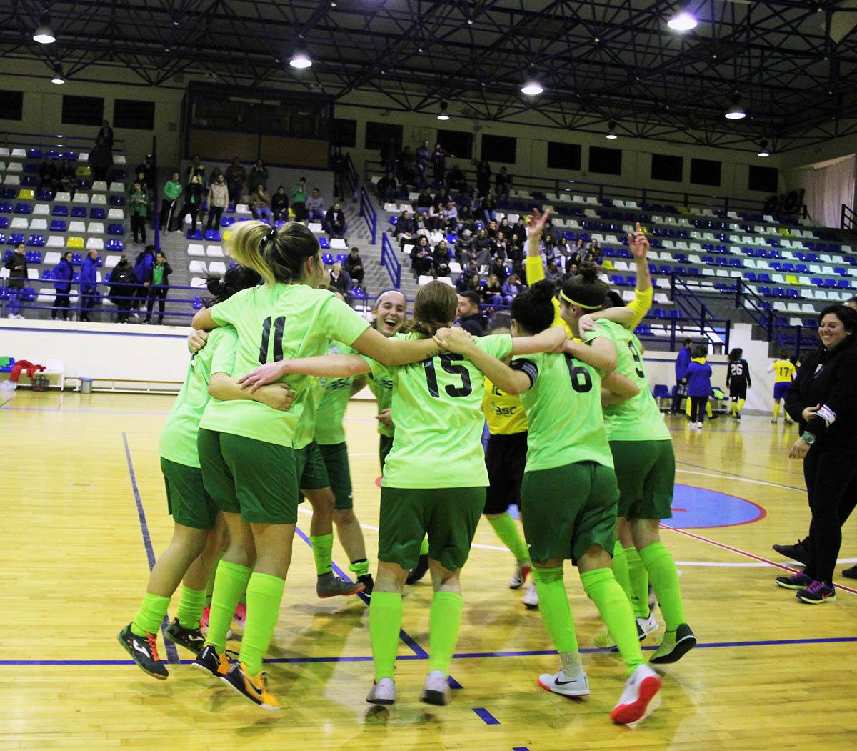57fe5f9443 GDC Machados sagra-se tricampeão do Algarve de Futsal Feminino