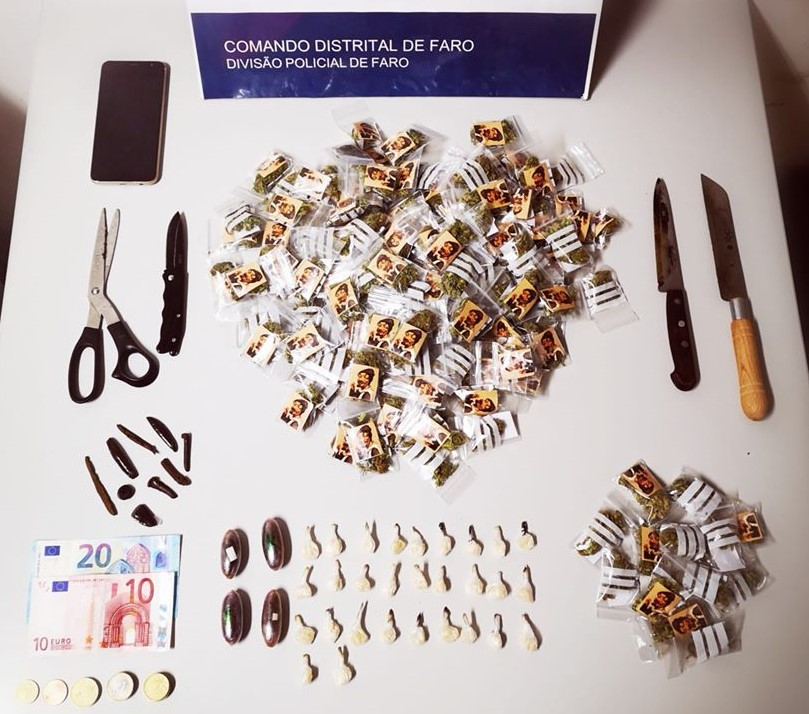 Jovem de 16 anos vendia droga à porta de escolas em Faro - Sul Informacao
