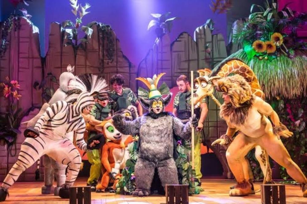 Musical «Madagáscar» chega ao Teatro das Figuras em Faro - Sul Informacao